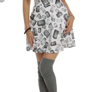 Doctor Who Her Universe high waisted skirt
